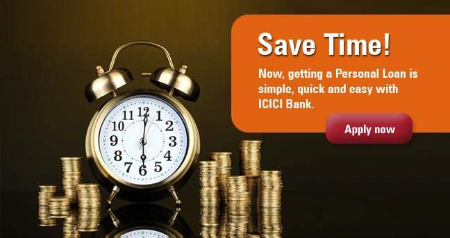 Deals | ICICI Bank Personal Loan disbursed in 72Hrs*. Appl